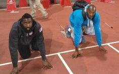 USA Team Basketball Entrena Para Ganarle A Usain Bolt