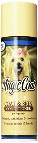 Four Paws Magic Coat Soft 'N Silky Dog Grooming Conditioner, 7oz -- Read more at the image link.
