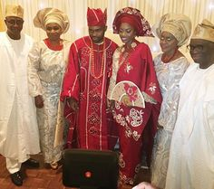 GOSSIP, GISTS, EVERYTHING UNLIMITED: Photos: Segun Odegbami's Daughter's Traditional We...