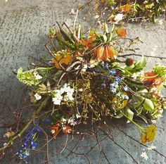 Flowers by The Informal Florist for the RHA Gallery, Dublin. 2015