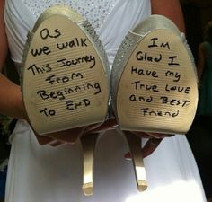 So what to do this on the bottom of my shoes - visit the outlets at Brides book for more great deals from retailers from around the globe at http://www.brides-book.com