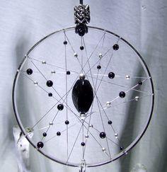 Amulette de Protection argent chambre noire en par TigerEmporium