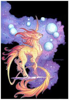 space unicorn II by drachenmagier.deviantart.com on @DeviantArt