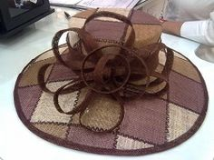 Patches (Browns) by PETRO VERMEULEN #millinery #hats #HatAcademy