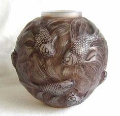 Lalique 'Formose' Glass Vase circa.1924 ♥≻★≺♥