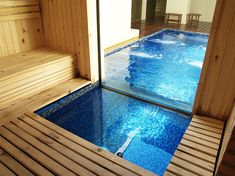 Calle 11 spa urbano, another cool sauna with a pool inside
