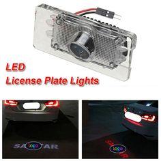 LED Láser carnet de conducir de matrícula sombra de la luz luz del proyector de logotipo para Sagitar de VW