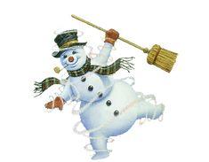 daniel ridgway knight gif | Táncol a hóember...