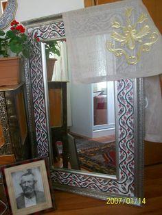 mihrican  ,benim  aynam Islamic World, Islamic Art, Pottery, Mirror, Modern, Tile, Furniture, Home Decor, Ceramica