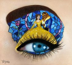 Tal Peleg eyelid art...........Not sure if these are photo-shopped or not, but WOW! If they're real, someone has WAY too much time on their hands!