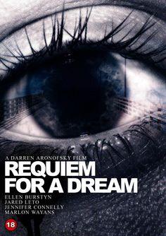 Requiem For A Dream Filme de Darren Aronofsky. Marlon Wayans, Dream Song, Requiem For A Dream, Darren Aronofsky, Dream Meanings, Jared Leto, Film Posters, Illuminati, Good Movies