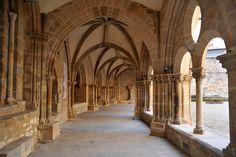 Tulle (Corrèze) - Cloitre de la Cathétrale Notre-Dame - XII-XIIIème -  la Galerie