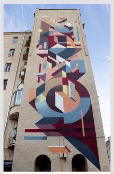 Graffiti - ispirazione motivo geometrico.
