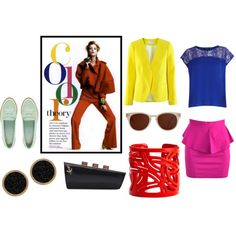 Pop of Color, created by pcnooga on Polyvore