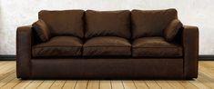 Трехместный диван в современном стиле с механизмом трансформации. Обивка полностью в итальянской коже Old Tobacco. Диван оснащен итальянским механизмом трансформации в комплекте с пружинным матрасом. Каркас из массива дерева хвойных пород и фанеры, подушки сиденья и подлокотники оформлены кантом. Размеры, (ДхГхВ), см: 210х100х70 Спальное место, (ДхШ), см: 160х200
