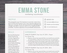 professional resume template cv template by theshinedesignstudio