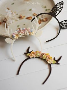 ♡ Look at these cute hairbands, you could be a bunny or deer x x