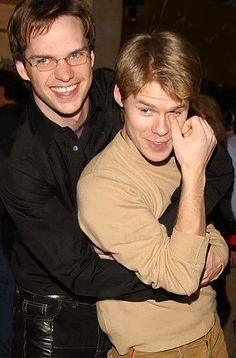 Randy and Peter Paige - Randy Harrison Photo - Fanpop History Of Television, Television Program, Brian E Justin, Paige Photos, Randy Harrison, Brian Kinney, Gale Harold, Queer As Folk, Cute Gay Couples