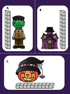 Most Popular Teaching Resources: Halloween Measurement Math Center