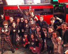 Cast of School of Rock Broadway