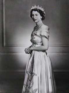 Princess Elizabeth 1951 by Yousuf karsh