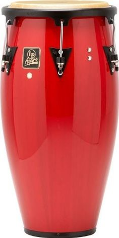 Latin Percussion LPA612-RW Conga Drum, Red Wood/Black by Latin Percussion. $162.16. LP Aspire Wood Congas are ideal for students, hobbyists and aspiring musicians. They provide great value at affordable prices.