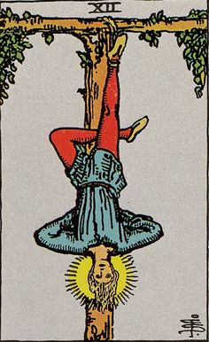 Featured Tarot Card The Hanged Man from the Rider Waite Deck The Hanged Man reflects a need to suspend action, and as a result, a period of indecision may be indicated. Decisions or actions that need. Vintage Tarot Cards, All Tarot Cards, Hanged Man Tarot, The Hanged Man, Major Arcana Cards, Tarot Major Arcana, Tarot Rider Waite, Tarot Waite, Tarot Significado