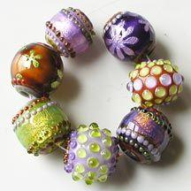 April Showers. Z beads