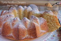 Un dolce particolare, delicato e dal sapore deciso.. la Torta alla Ricotta e Zenzero è perfetta in qualsiasi occasione, delicata per la colazione