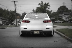 Crispy white Evo #mitsubishi #evolution