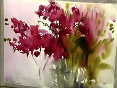 Beginners Loose Watercolours 'Red Moment' with Andrew Geeson