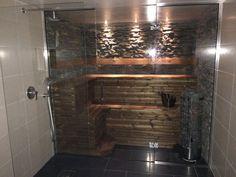 Bildresultat för bastu i badrum Bathroom Toilets, Bathrooms, Jacuzzi, Pergola, Ikea, Sweet Home, Bathtub, Relax, Shower