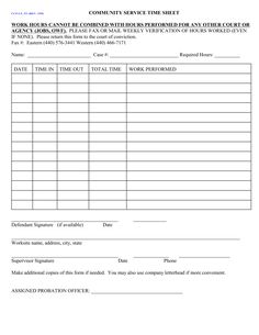 Community Service Form. Sew To GiveThe Hat Ladies ...