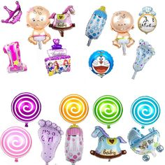 mini balloon baby shower party foil baby boy girl Lollipop crown bottle balloons 23 type Birthday Decoration baloes de festa #>=#>=#>=#>=#> Click on the pin to check out discount price, color, size, shipping, etc. Save and like it!