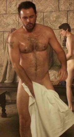 Gladiators in their cells Mick Carter, Roman Soldiers, Shower Time, Famous Men, Celebs, Celebrities, Sexy Men, Hot Men, Gorgeous Men