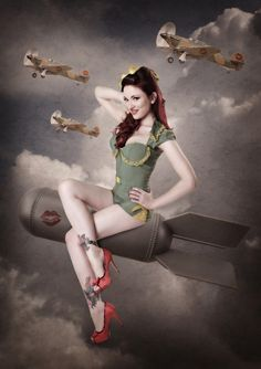 #bombers #pinup #photography