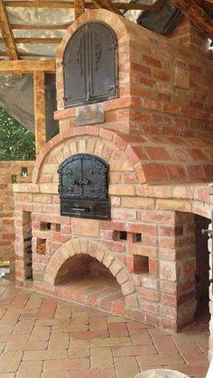 (3) László Kneif Diy Pizza Oven, Pizza Oven Outdoor, Outdoor Cooking, Pizza Ovens, Diy Outdoor Kitchen, Outdoor Rooms, Outdoor Living, Pizza Oven Fireplace, Parrilla Exterior