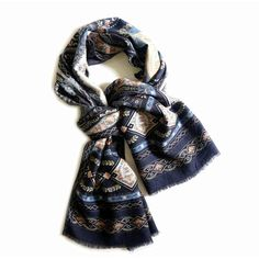Baroque lightweight 100% WOOL long size winter scarf in blue red... (1 300 UAH) ❤ liked on Polyvore featuring men's fashion, men's accessories, men's scarves, mens shawl, mens wool scarves, mens woolen scarves, vintage mens accessories and vintage mens scarves