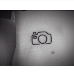 #tattoo #ink #tattoos #camera #lineart #smalltattoo #girlswithtattoos #girl #love #this #wantmore #ilovetattoos #tattoolife #blacktattoo #cutetattoo #cameratattoo