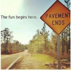 When the pavement ends the fun begins. Many wonderful memories took place on an old dirt road. Country Girl Quotes, Country Girls, Country Music, Country Roads, Country Charm, Country Style, Thats The Way, That Way, Camping Jeep