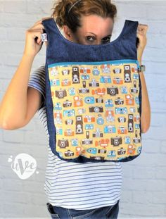 Mochila mariposas para mujer o niñas · Artesanía uVe Original Unisex, Pot Holders, The Originals, Bags, Accessories, Shopping, Fashion, Fabric Handbags, Fabrics