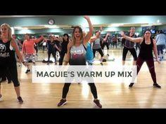 Maguie's Warm Up Mix, by DJ BADDMIXX - Carolina B - YouTube Zumba Videos, Dance Workout Videos, Dance Videos, Step Aerobic Workout, Aerobics Workout, Zumba Warm Up, Dance Playlist, Sixpack Workout, Zumba Routines
