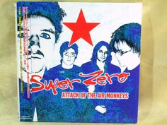 CD/Japan- SUPER ZERO Attack Of Air Monkeys +1 w/OBI RARE MINI-LP Gary Cherone #PopRock