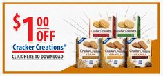 $1.00 off Lance Cracker Creations!