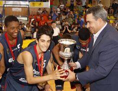 El Estudiantes campeón de España Infantil en Cambados. Fotos de Gonzalo Salgado