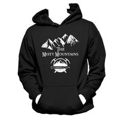Misty Mountains Climbing Club LOTR Unisex Hoodie - pinned by pin4etsy.com