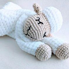 PATTERN ONLY Sleepy Comforter bundle crochet lovey crochet | Etsy Crochet Giraffe Pattern, Crochet Penguin, Crochet Sheep, Crochet Lovey, Crochet Patterns, Snuggle Blanket, Baby Lovey, Baby Comforter, Crochet Basics