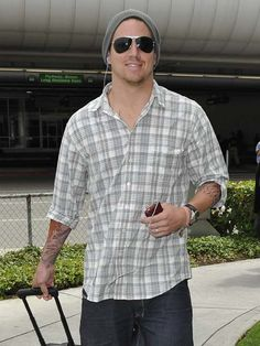 Channing: everyman needs to rock this beanie style!