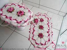 tapetes de croche para cozinha com linha barroco - Buscar con Google