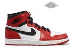 wholesale dealer d1335 921bd Air Jordan 1 Retro High - Baskets Jordan Pas Cher Chaussures Montantes Pour  Homme Air Jordan 1 Phat Retro Homme - Authentique Nike chaussures 70% de ...